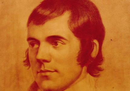 The traditional portrait of Robert Burns